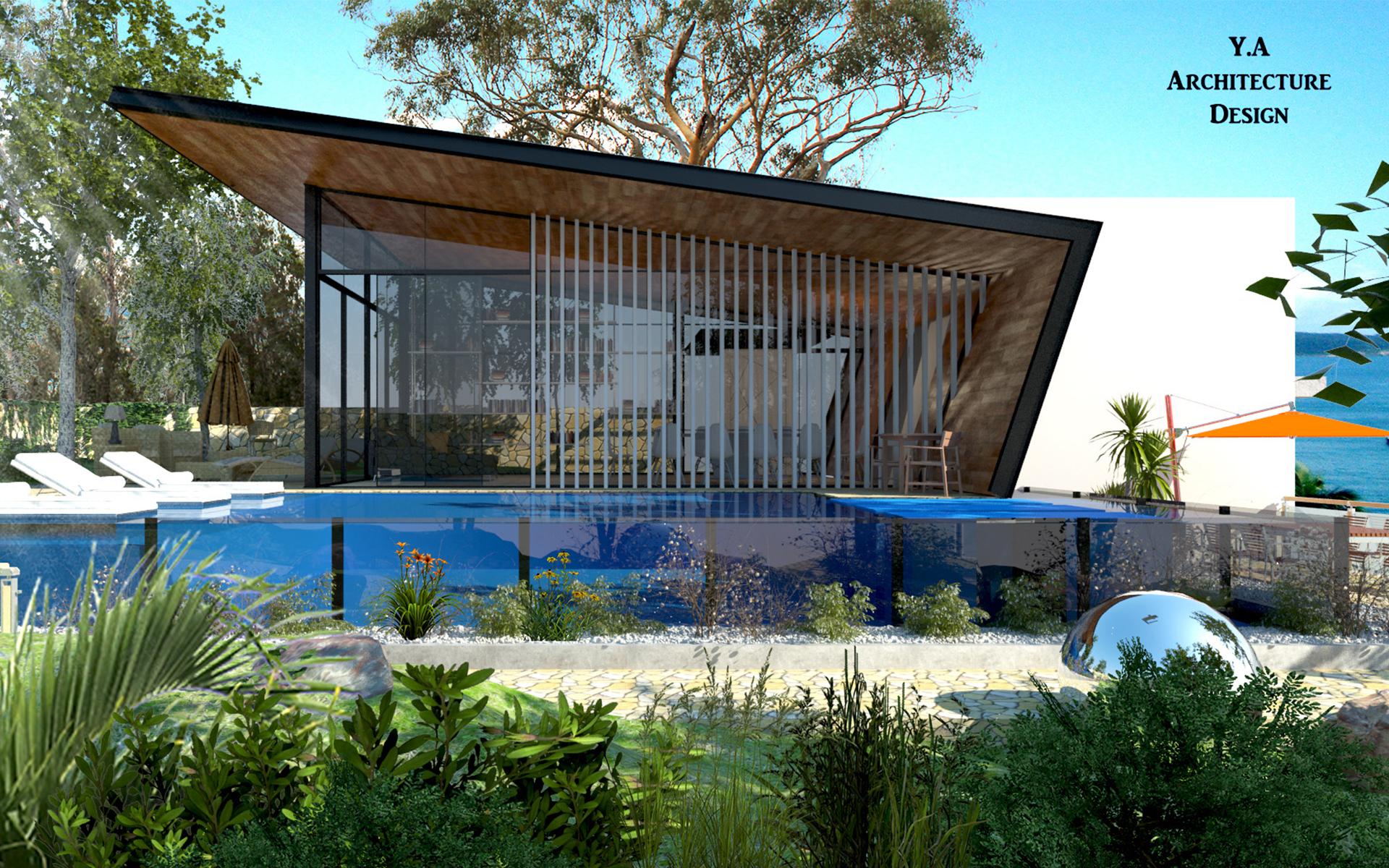 בית מודרני מעוצב