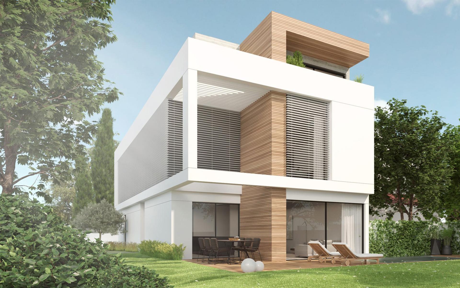 בית מעוצב בנהריה