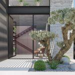 עיצוב כניסה לבית